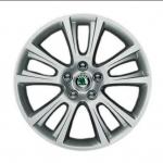 Оригинальные колесные диски с резиной Zenit