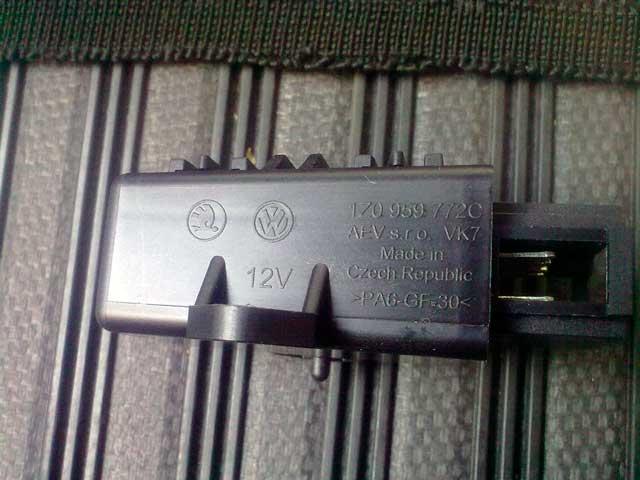 установка оригинального подогрева сидений skoda
