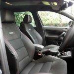Оригинальные сидения Skoda Octavia RS Red