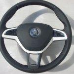 Многофункциональное рулевое колесо Skoda